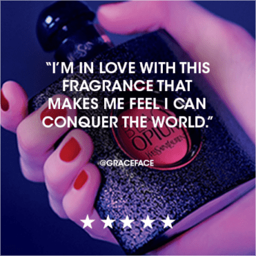 I'm in love with this fragrance that makes me feel like I can conquer the world. @graceface